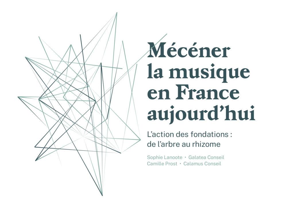 Couverture livre blanc Mécéner la musique en France aujourd'hui